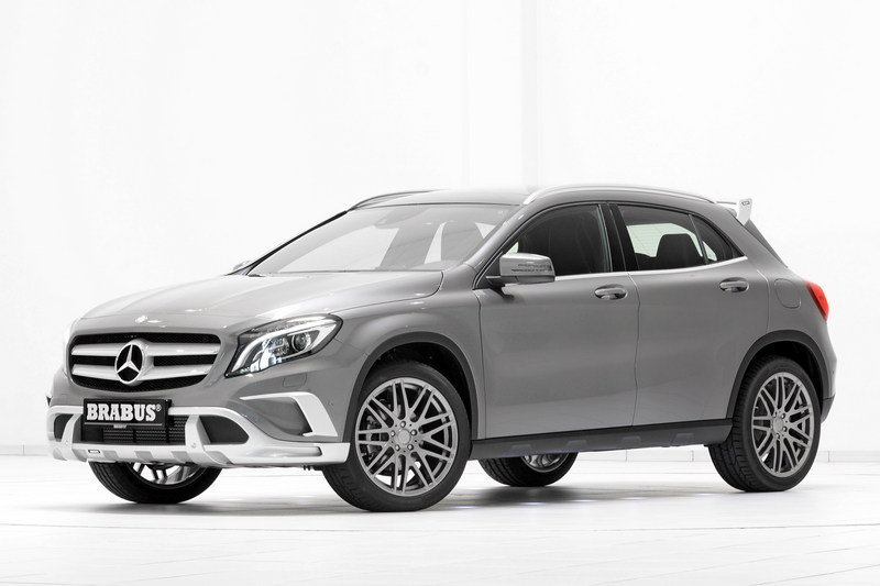 2015 Mercedes GLA-Class By Brabus High Resolution Exterior - image 553533