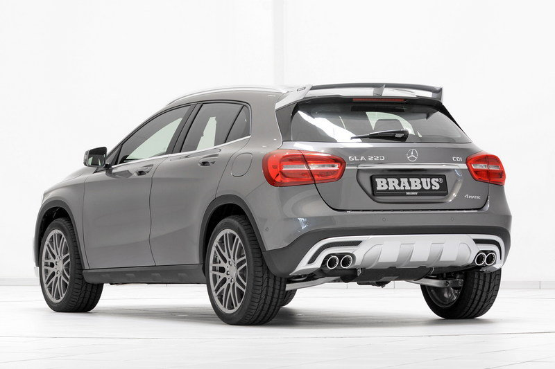 2015 Mercedes GLA-Class By Brabus High Resolution Exterior - image 553534