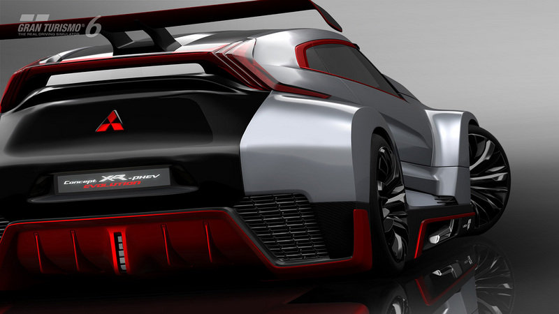2014 Mitsubishi XR-PHEV Evolution Vision Gran Turismo Concept Screenshots / Gameplay - image 554191