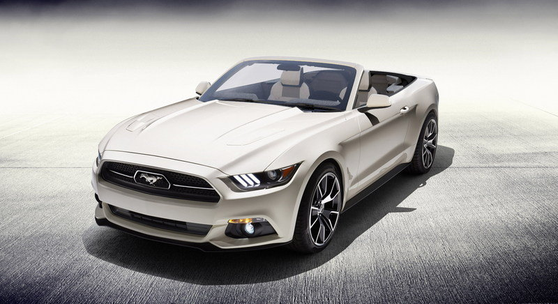 One-off 2015 Ford Mustang 50 Years Convertible Will Be Raffled For Charity