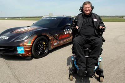 Paralyzed Driver Will Drive at Indy 500 in a Customized Corvette