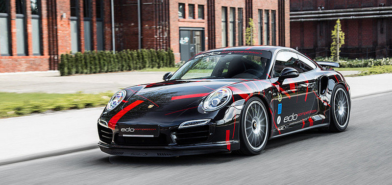 2014 porsche 911 turbo s by edo competition review top speed. Black Bedroom Furniture Sets. Home Design Ideas