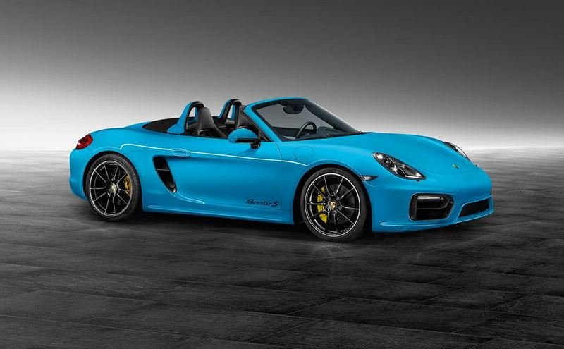 2014 Porsche Boxster S in Riviera Blue by Porsche Exclusive