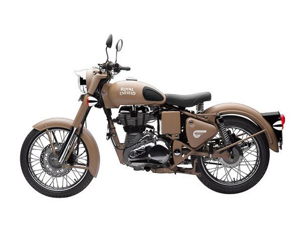 2014 Royal Enfield Classic Desert Storm Motorcycle