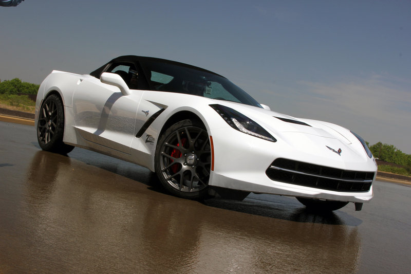 Texas, Tire Smoke and a Broken C7: My Day as a Tire Tester