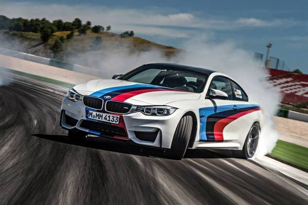 The M4 Coupe Tries On Bmw S Official Racing Colors Car