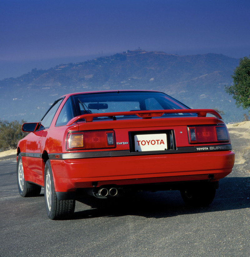 1986 - 1992 Toyota Supra High Resolution Exterior - image 552671