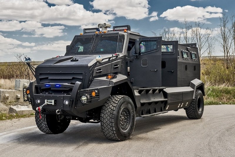 2014 INKAS Unique Armored Personnel Carrier