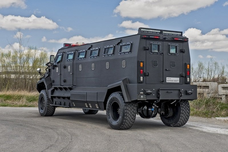 2014 INKAS Unique Armored Personnel Carrier Exterior - image 552891