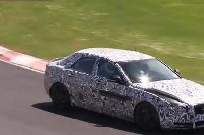 Video: 2016 Jaguar XE Caught Testing on the Nurburgring
