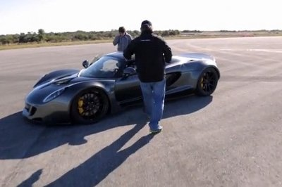 Video: Behind the Scenes of Hennessey's Record Speed Run