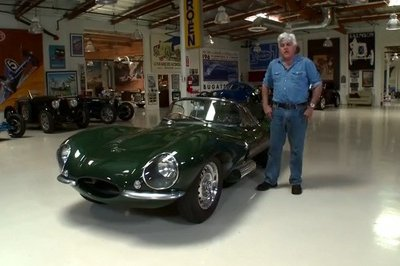 Video: Jay Leno Reviews Steve McQueen's 1956 Jaguar XKSS