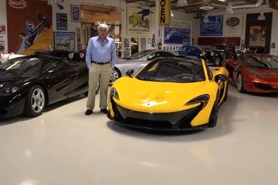 Video: Jay Leno Shows Off His 2015 McLaren P1