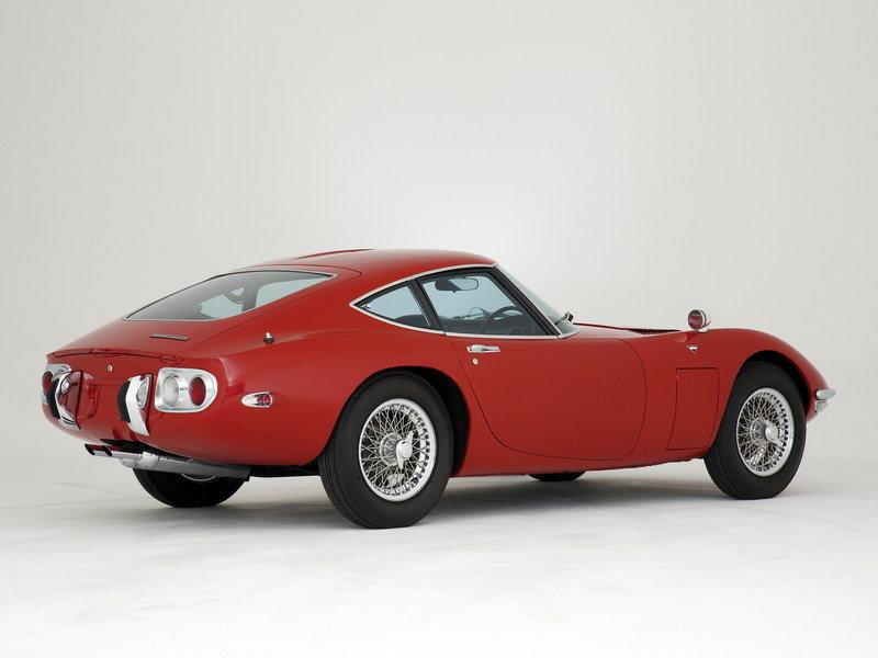 1967 - 1970 Toyota 2000GT High Resolution Exterior - image 555415
