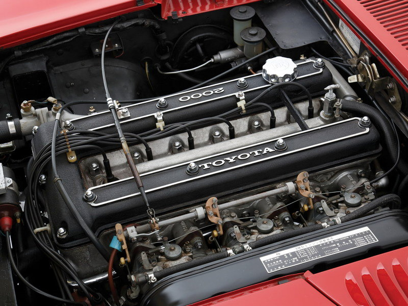 1967 - 1970 Toyota 2000GT High Resolution Drivetrain - image 555418