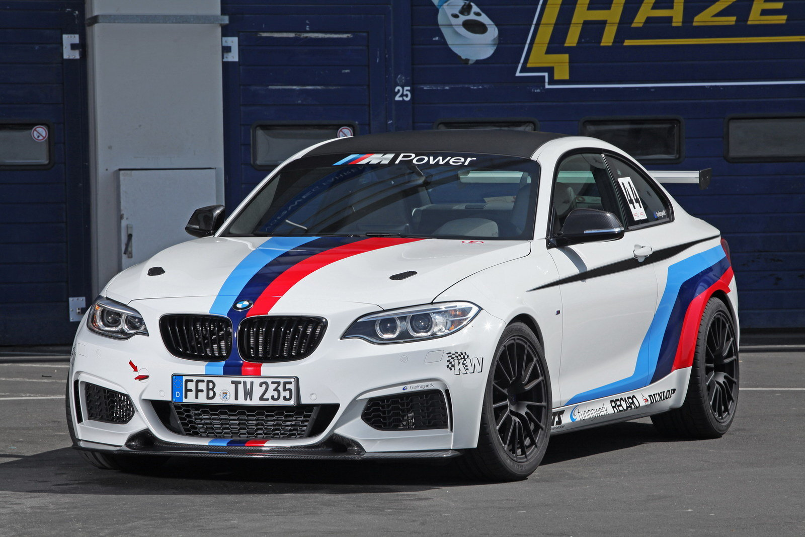 2014 bmw m235i rs by tuningwerk top speed. Black Bedroom Furniture Sets. Home Design Ideas