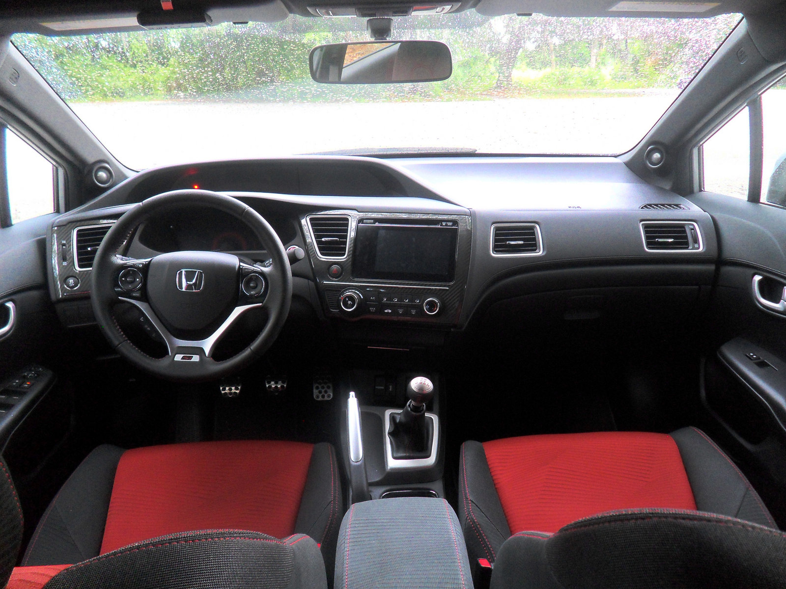Honda Civic Si 2014 Interior