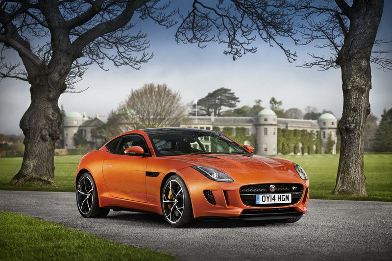 2014 Jaguar F-Type R Coupe High Resolution Exterior Wallpaper quality - image 557144