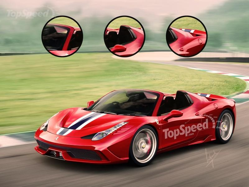 2015 Ferrari 458 Speciale A Exclusive Renderings - image 557537