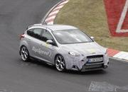 Spy Shots: 2015 Ford Focus RS Caught During its First Testing Session - image 557724