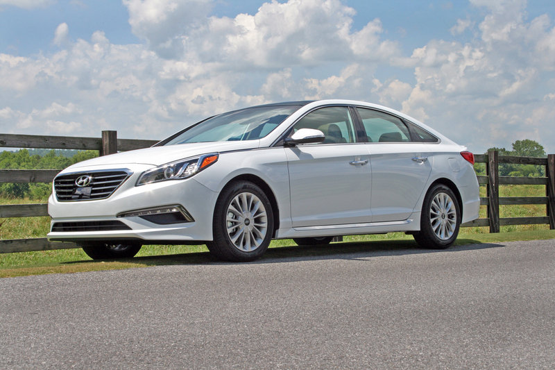 2015 Hyundai Sonata - Driven High Resolution Exterior - image 558108