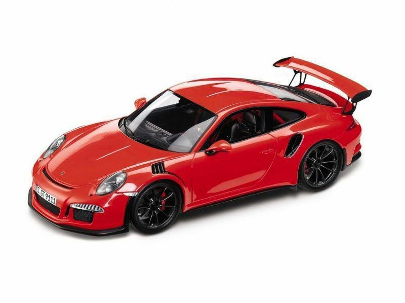 2015 Porsche 911 GT3 RS Leaked as Scale Model