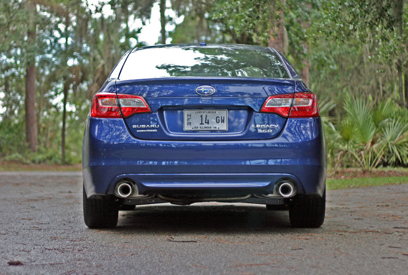 2015 Subaru Legacy - Driven High Resolution Exterior - image 556226