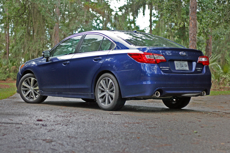 2015 Subaru Legacy - Driven High Resolution Exterior - image 556227