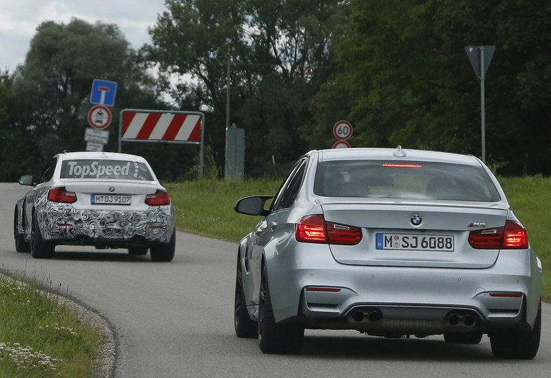 Spy Shots: 2016 BMW M2 Looks Great in White