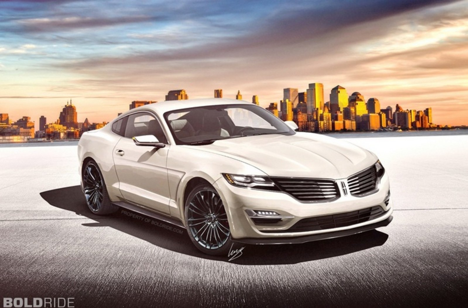 2016 Lincoln MK Coupe Concept Review - Top Speed