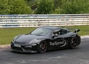 Spy Shots: Porsche Cayman GT4 Caught Testing at Nurburgring - image 555675