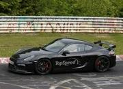 Spy Shots: Porsche Cayman GT4 Caught Testing at Nurburgring - image 555676