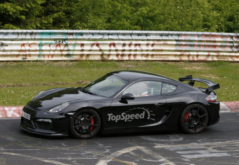 Spy Shots: Porsche Cayman GT4 Caught Testing at Nurburgring Exterior Spyshots - image 555676