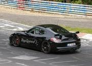 Spy Shots: Porsche Cayman GT4 Caught Testing at Nurburgring - image 555677