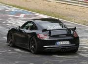 Spy Shots: Porsche Cayman GT4 Caught Testing at Nurburgring - image 555678