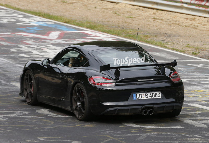 Spy Shots: Porsche Cayman GT4 Caught Testing at Nurburgring Exterior Spyshots - image 555678