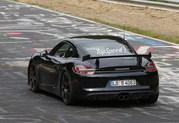 Spy Shots: Porsche Cayman GT4 Caught Testing at Nurburgring - image 555679
