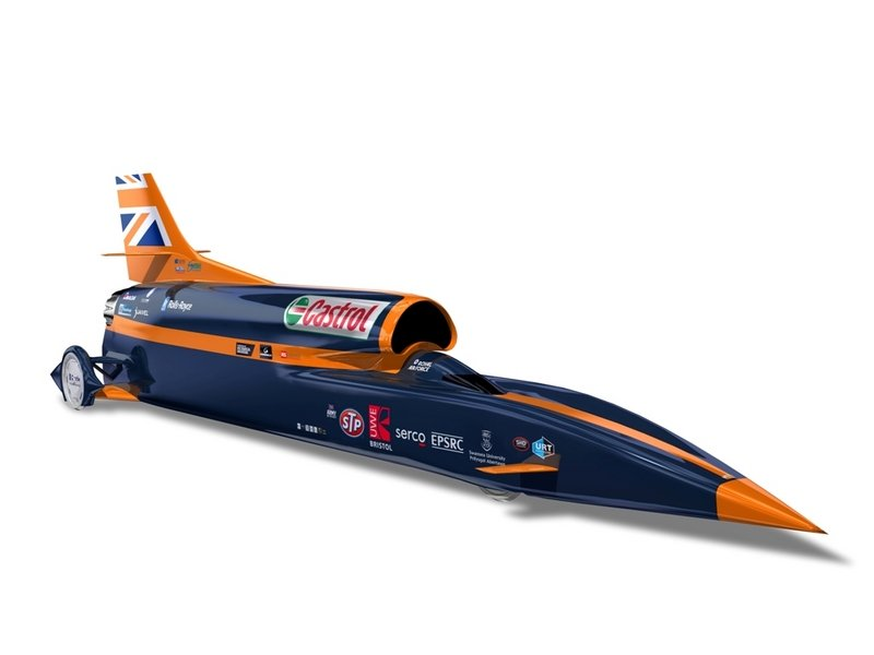 2014 Bloodhound SSC