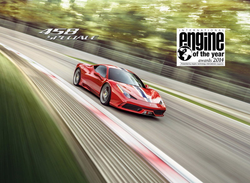 Ferrari 458 Wins a Pair of International Engine of the Year Awards
