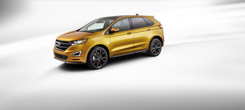 2015 Ford Edge High Resolution Exterior - image 557596