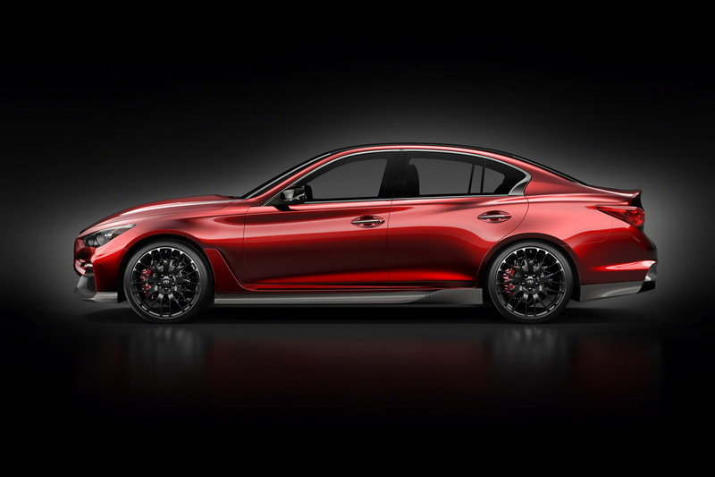 Infiniti Q50 Eau Rouge Prototype will Roar its V-6 Engine at Goodwood High Resolution Exterior - image 556307