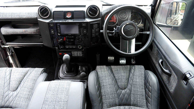 "2014 Land Rover ""Chelsea Defender"" By Kahn Design High Resolution Interior - image 557778"