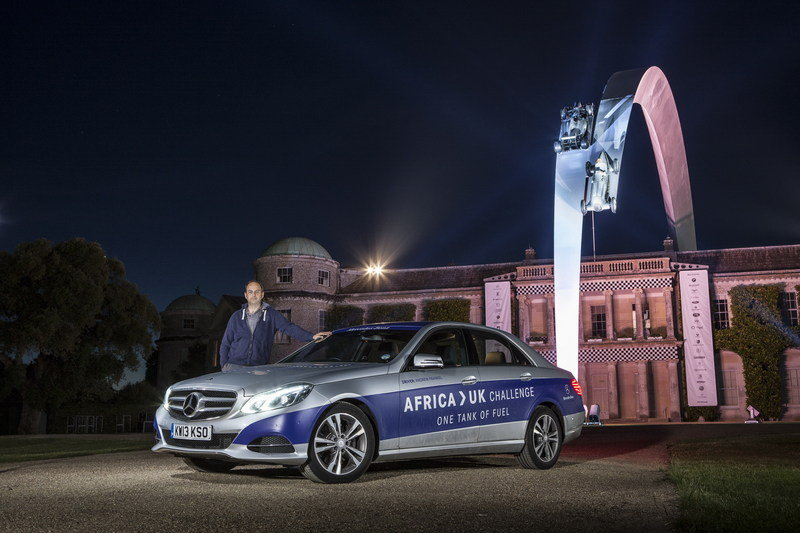 Mercedes-Benz E 300 BlueTEC Hybrid Drives 1,223 Miles on a Single Tank of Fuel High Resolution Exterior - image 557909