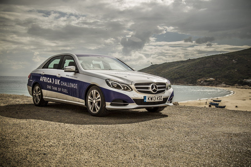 Mercedes-Benz E 300 BlueTEC Hybrid Drives 1,223 Miles on a Single Tank of Fuel High Resolution Exterior - image 557902
