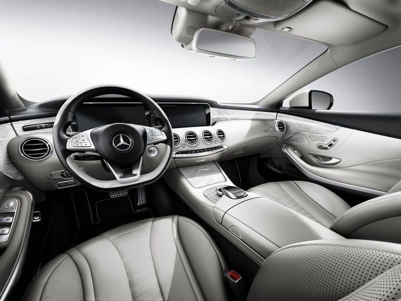 2015 Mercedes-Benz S-Class Coupe AMG Line Kit High Resolution Interior - image 554423