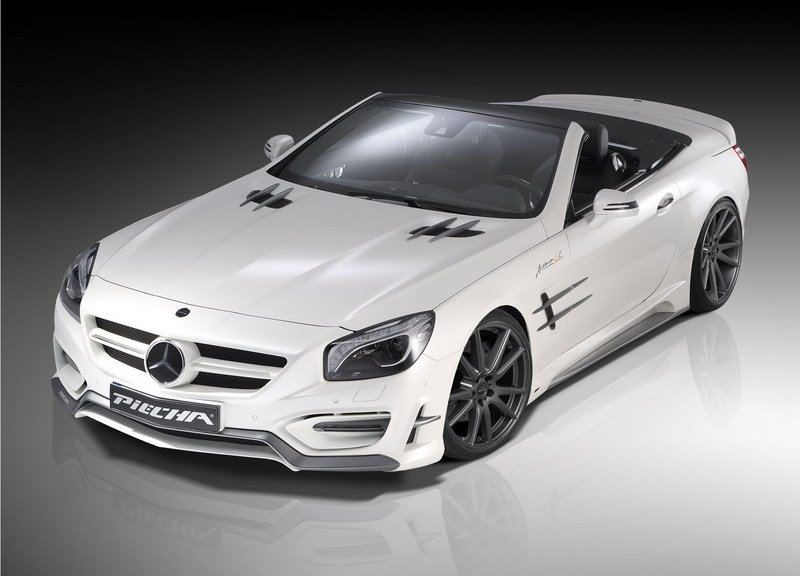 "2014 Mercedes-Benz SL ""Avalange GT-R"" By Piecha Design"