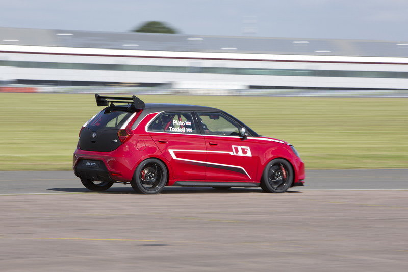2014 MG MG3 Trophy Championship Concept