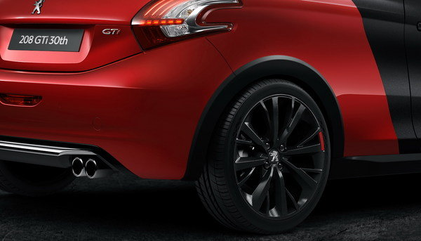 2014 peugeot 208 gti 30th anniversary edition car review. Black Bedroom Furniture Sets. Home Design Ideas