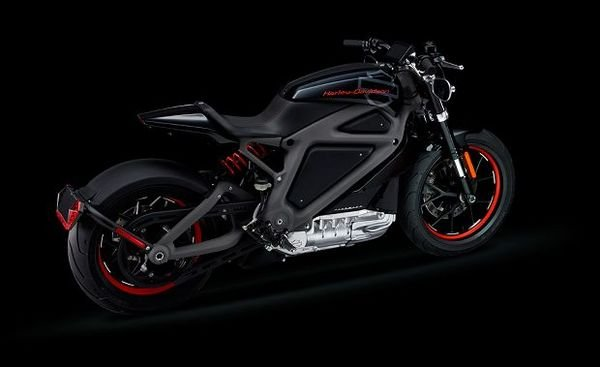 Bmw Motorcycle Parts >> Harley-Davidson's Project Livewire Breaks Cover
