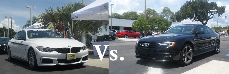 Quick Comparison: 2014 BMW 435i M Sport Vs. 2014 Audi S5